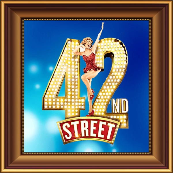 42nd Street set, scenery, props and backcloths for hire. Backdrops for hire.