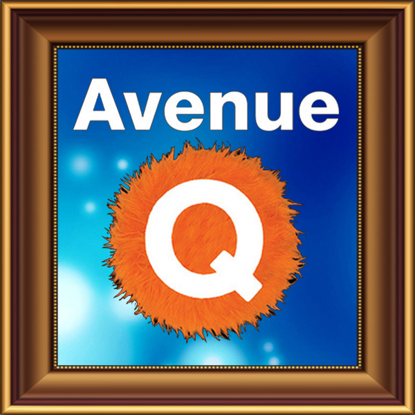 Avenue Q set, scenery, props and backcloths for hire. Backdrops for hire. Purpose Box puppets for hire.