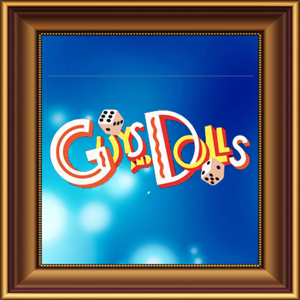 Guys and Dolls set, scenery, props and backcloths for hire. Backdrops for hire.