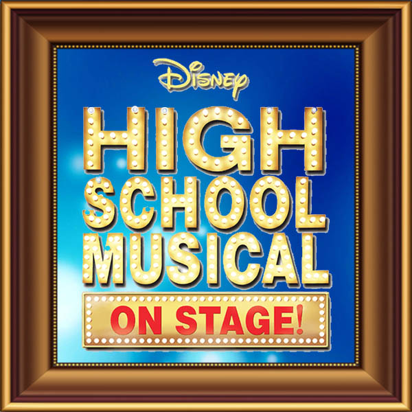 Disney's High School Musical set, scenery, props and backcloths for hire. Backdrops for hire.