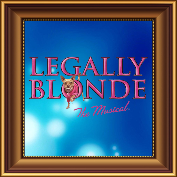 Legally Blonde set, scenery, props and backcloths for hire. Backdrops for hire.