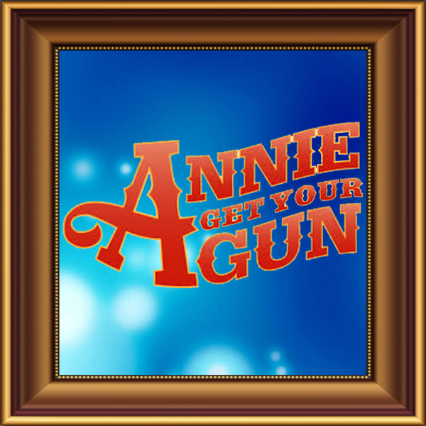 Annie Get Your Gun set, scenery, props and backcloths for hire. Backdrops for hire.