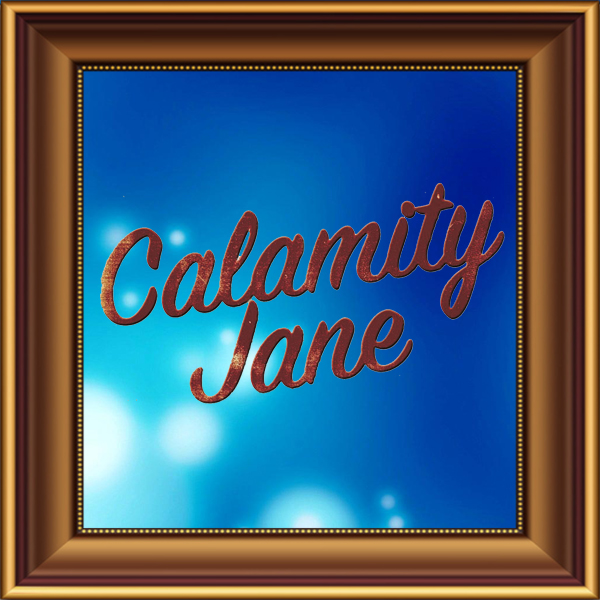 Calamity Jane set, scenery, props and backcloths for hire. Backdrops for hire.