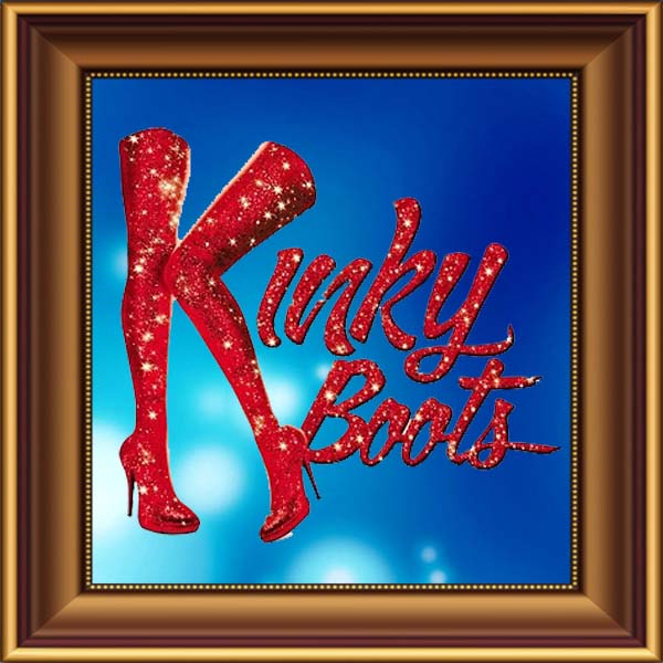 Kinky Boots set, scenery, props and backcloths for hire. Backdrops for hire.