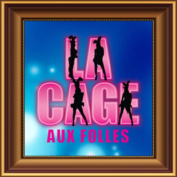 La Cage Aux Folles set, scenery, props and backcloths for hire. Backdrops for hire.
