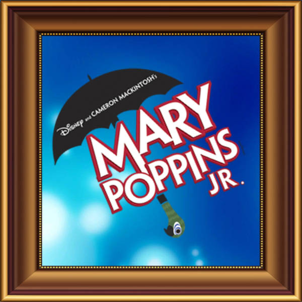 Mary Poppins Junior set, scenery, props and backcloths for hire. Backdrops for hire.