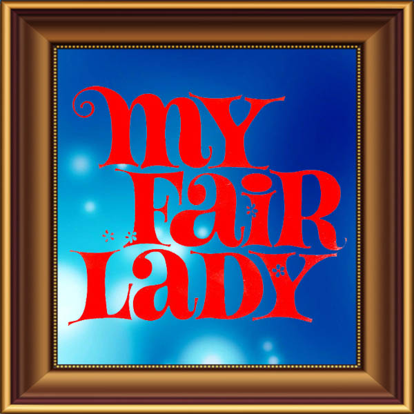 My Fair Lady set, scenery, props and backcloths for hire. Backdrops for hire.