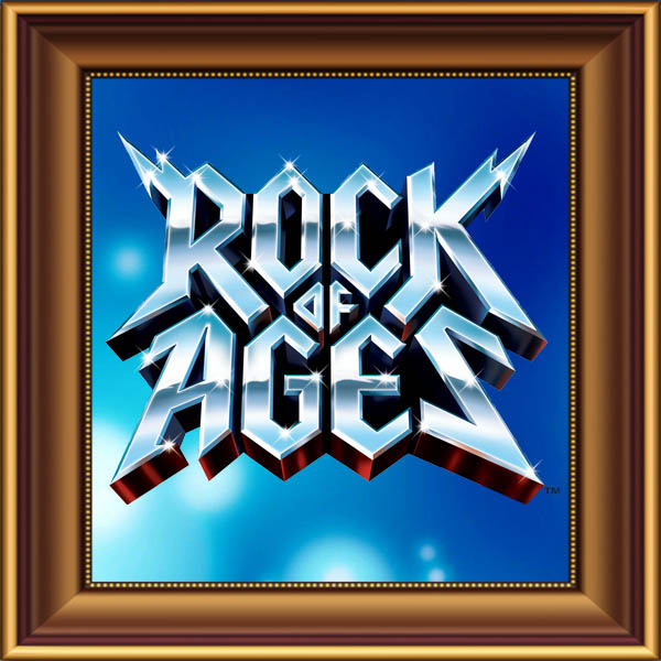 Rock of Ages set, scenery, props and backcloths for hire. Backdrops for hire.