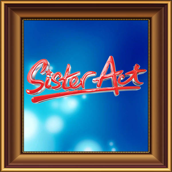 Sister Act set, scenery, props and backcloths for hire. Backdrops for hire.