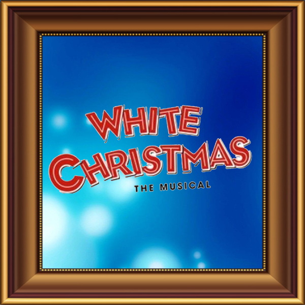 Irving Berlin's White Christmas set, scenery, props and backcloths for hire. Backdrops for hire.