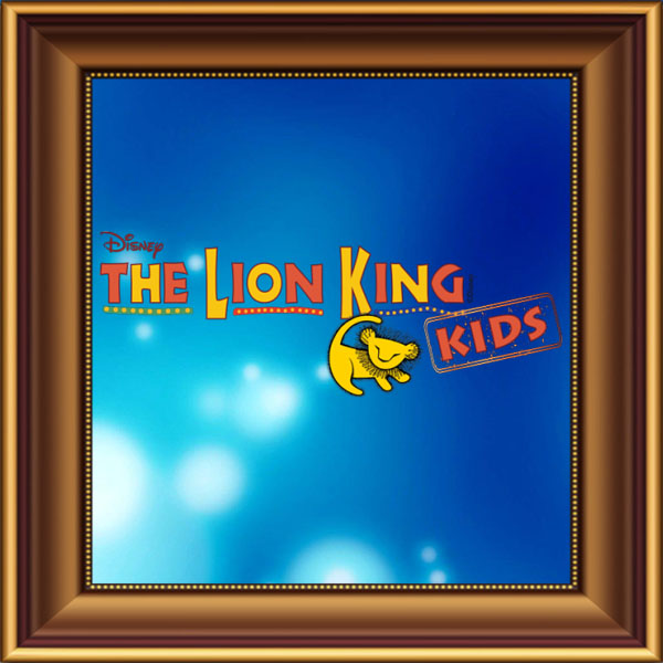 The Lion King, Lion King Jr, Lion King Junior, Lion King Kids set, scenery, props and backcloths for hire. Backdrops for hire.