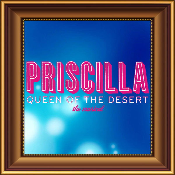 Priscilla Queen of the Desert set, scenery, props and backcloths for hire. Backdrops for hire. Bus for hire.